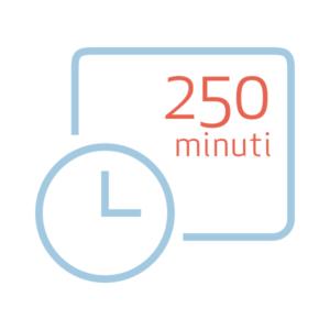 Pacchetto da 250 minuti extra per Nonny
